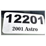 2001 Chevy Astro -- miles/hours  51701