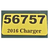 2016 Dodge Charger -- miles/hours  55000