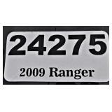 2009 Ford Ranger -- miles/hours  34371