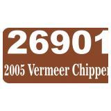 2005 Vermeer Chipper -- miles/hours  949