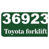 TOYOTA FORKLIFT (MORE INFO TO FOLLOW)