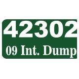 2009 Int. Dump -- miles/hours  45050
