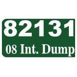 2008 Int. Dump -- miles/hours  63463
