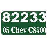 2005 Chevy C8500 Dump -- miles/hours  52335