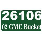 2002 GMC Bucket Truck -- miles/hours  67590