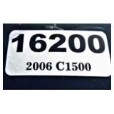 (16200) 2006 Chevy C1500 -- miles 72081