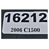 (16212) 2006 Chevy C1500 -- miles 75698