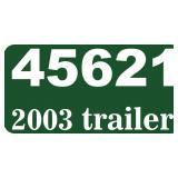 (45621) 2003 Texas Bragg trailer