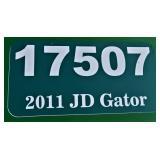 (17507) 2011 John Deere Gator -- hours  793