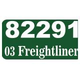 (82291) 2003 Freightliner Dump -- miles 63436