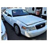 (58369) 2008 Ford Crown Vic, 77969 miles