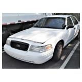 (57258) 2007 Ford Crown Vic -- miles 75962