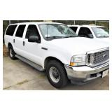 (41212) 2003 Ford Excursion  -- miles 98918