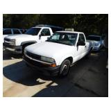 (17214) 2003 Chevy S10 -- miles 60492