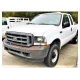 (26205) 2004 Ford F250 -- miles 89338