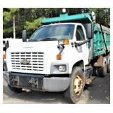 (82233) 2005 Chevy C8500 Dump -- miles 52335
