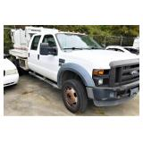 (24238) 2009 Ford F550 - miles 145021