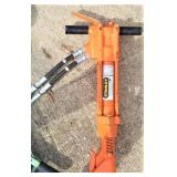 pneumatic jack hammer -orange
