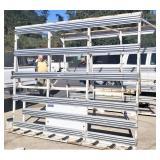 Truck glass rack