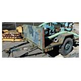 (74183) 1962 Trailer with pump