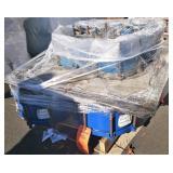 (4) 12 inch steel pipe couplings