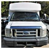 (F-28) 2010 Ford E450 Van, 365,936 miles