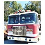 (64328) 1997 E-One Fire Pumper Truck, 159211 miles