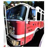 (64327) 1997 E-One Fire Pumper Truck, 145730 miles