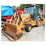 (17400) 2007 Case 580M -- hours  2000