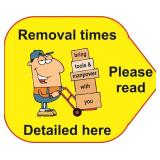 Removal date and time
