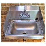 SS HAND SINK WITH FAUCET