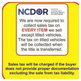 New NC Sales Tax requirement