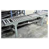 Rolling Conveyor Table, Missing Rollers