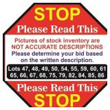 Description Of Stock Inventory Lots