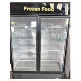 TRUE merchandiser freezer, Model GDM49F