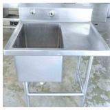 "Prep Sink w/ Marine Edge 28""x32"""