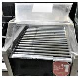 STAR roller grill with plastic sneeze guard