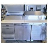 "Traulsen 66"" prep cooler, Has leak in coil"