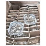 Glass ash trays (30)