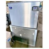 MANITOWOC cube ice machine, 1400 #, remote