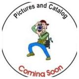 CATALOG AND PICTURES ARE COMING SOON