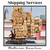 SHIPPING AND DELIVERY SERVICES ARE AVAILABLE