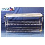 Metro Shelf with Stainless Steel Top