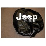 SPARE TIRE COVER FOR JEEP