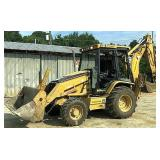 2004 Caterpillar backhoe