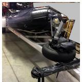 2000 Zodiac FC470 Rescue boat, motor, trailer