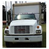 1997 GMC BOX TRUCK (See Description for PROBLEM)