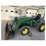 John Deere 955 Compact Tractor W/ QA Loader