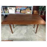 Drop Leaf Wood Table
