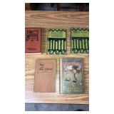 5 Old Fishing & Boy Scout Books